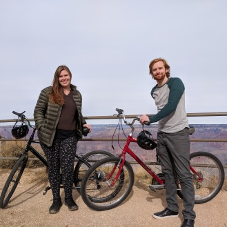 We rode our rented bikes 20 miles that day. I'm shocked that we did, but it was easy with the view distracting us.